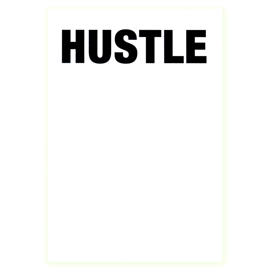 417 Press Hustle Notepad