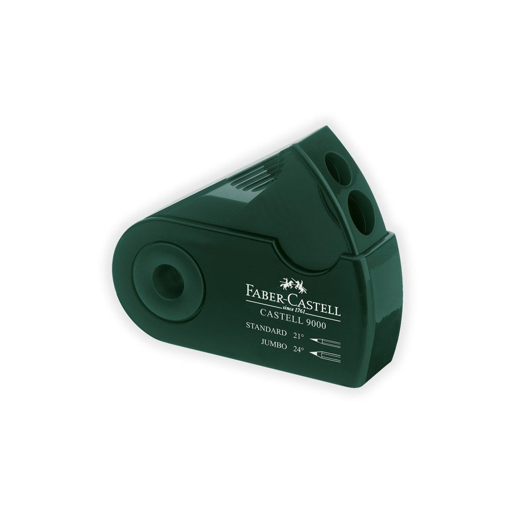 Castell 9000 Double Hole Sharpener Box - GREER Chicago Online Stationery