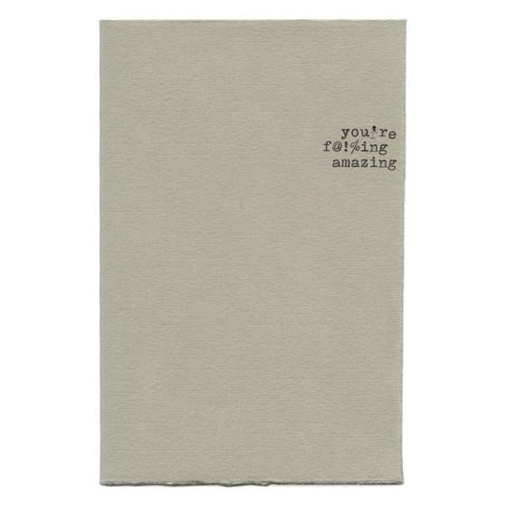 f@!%ing Amazing - GREER Chicago Online Stationery