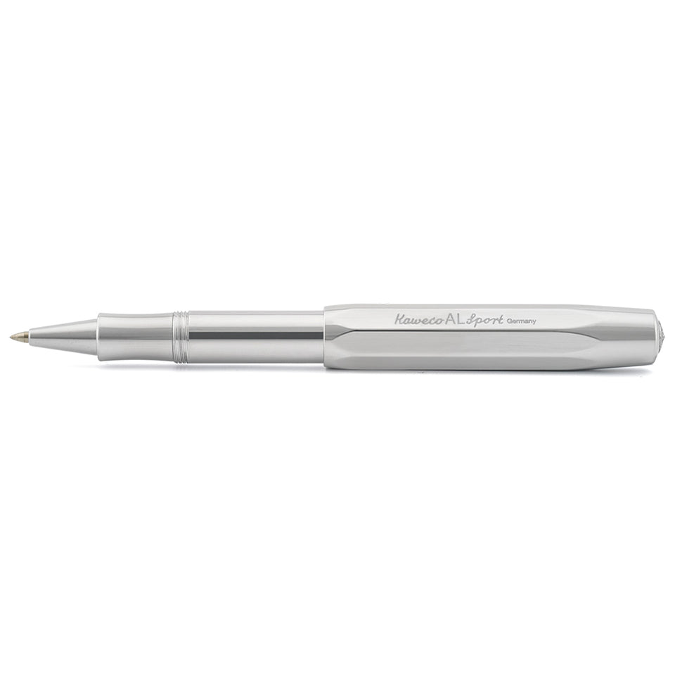 Kaweco AL Sport Raw Aluminum High Gloss Polish Rollerball Pen