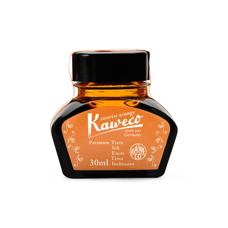 Kaweco Kaweco Bottled Fountain Pen Ink | 10 Colors Sunrise Orange