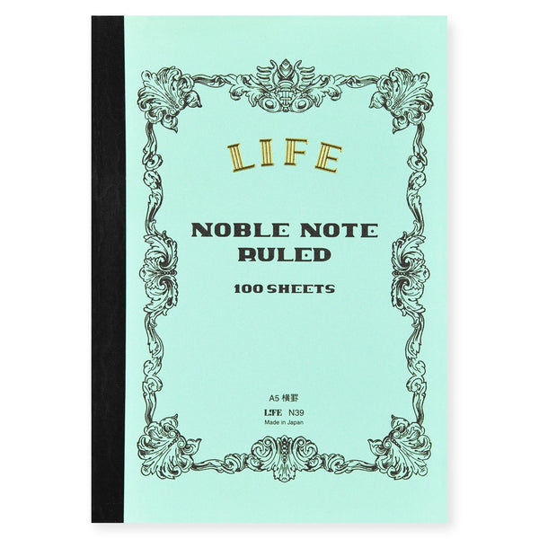 LIFE Stationery Noble Note Ruled Notebook In Four Sizes - GREER Chicago Online Stationery Shop