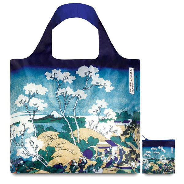 Hokusai Fuji from Gotenyama Reusable Bag - GREER Chicago Online Stationery