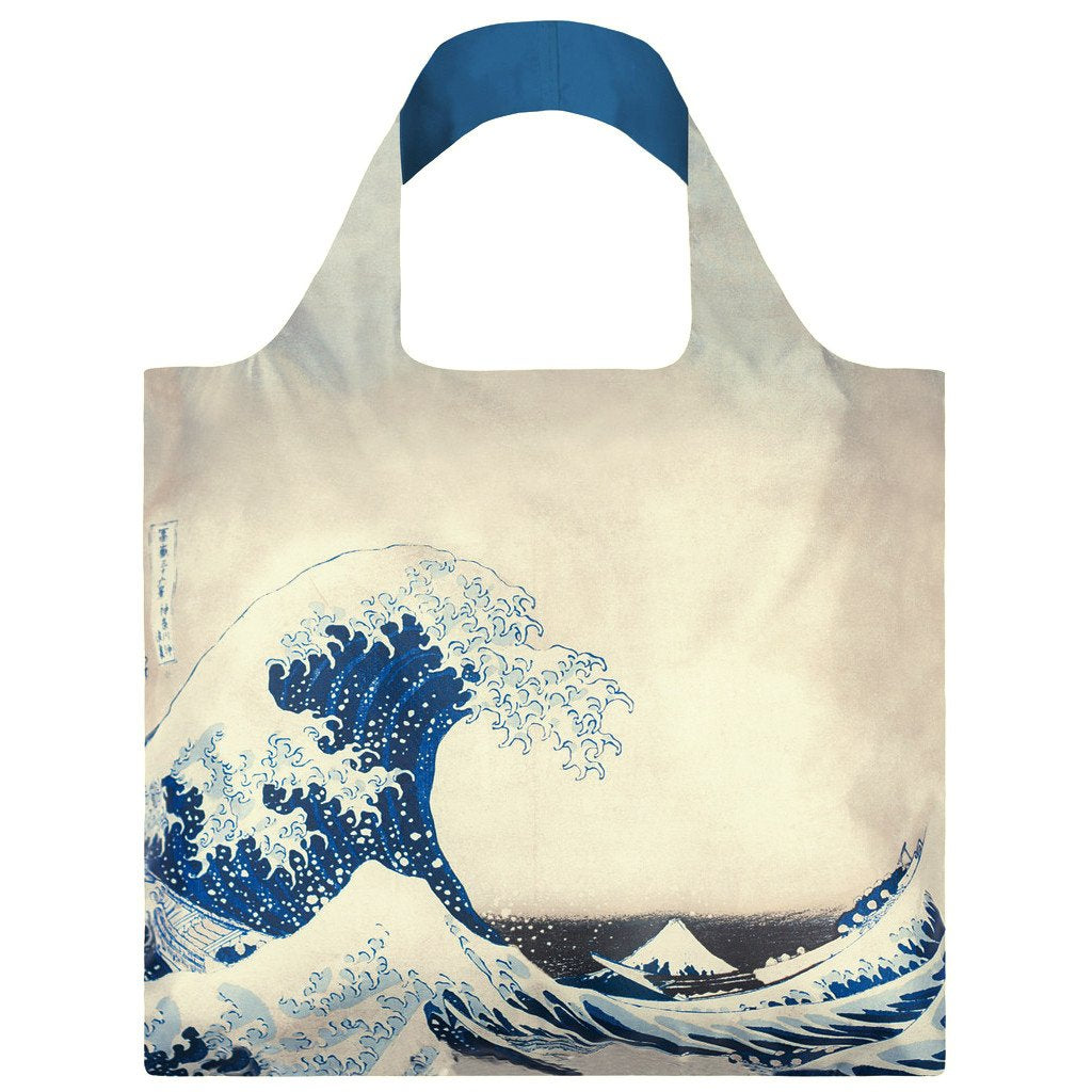 Hokusai The Great Wave Reusable Bag By LOQI