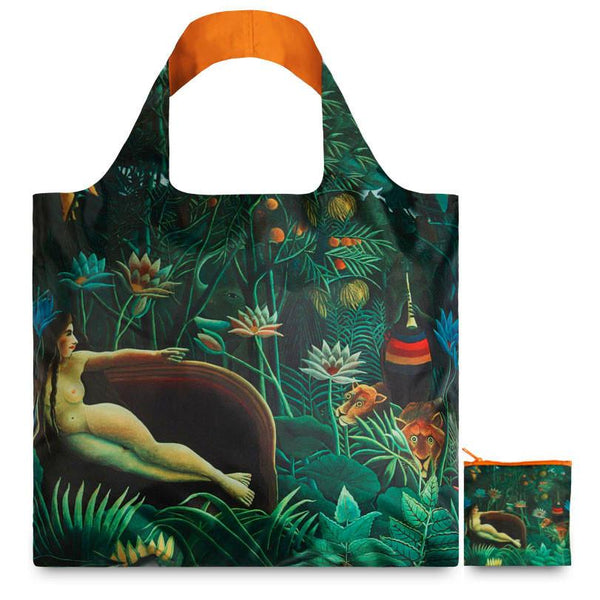 Henri Rousseau The Dream Reusable Bag By LOQI - 1