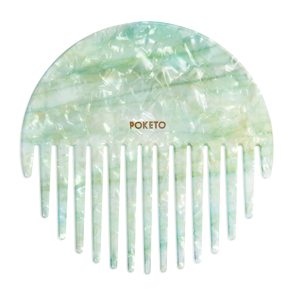 Poketo Poketo Circle Comb Mint