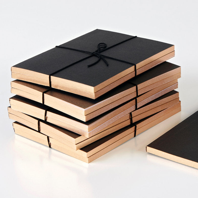 Wms & Co Pocket Notebooks with Rose Gold Edging