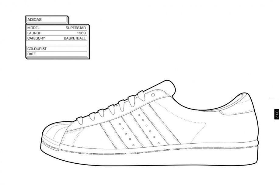 Nba Coloring Pages Adidas Shoes