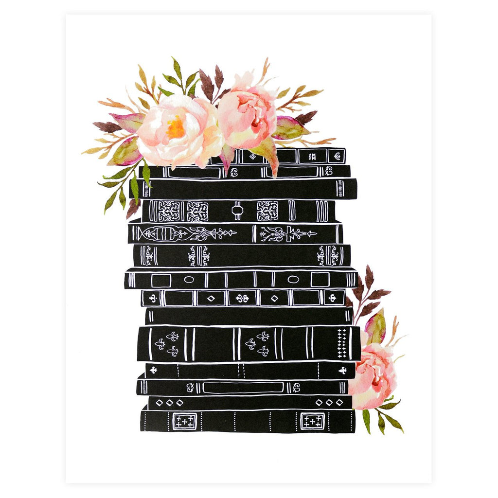 Alisa Bobzien Beautiful Books Print - GREER Chicago Online Stationery Shop