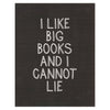 I Like Big Books Card Party Of One Paper  - GREER Chicago