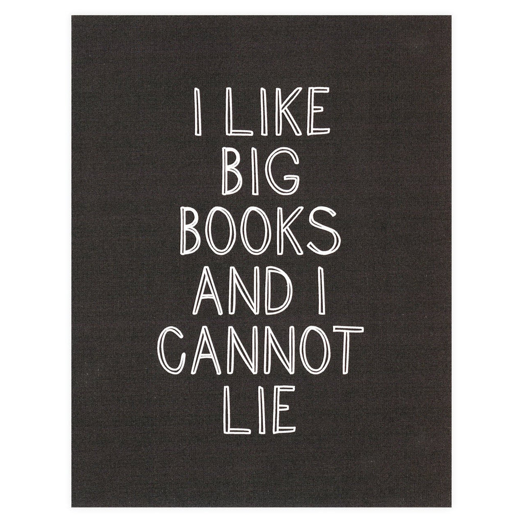 Party Of One Paper I Like Big Books Card