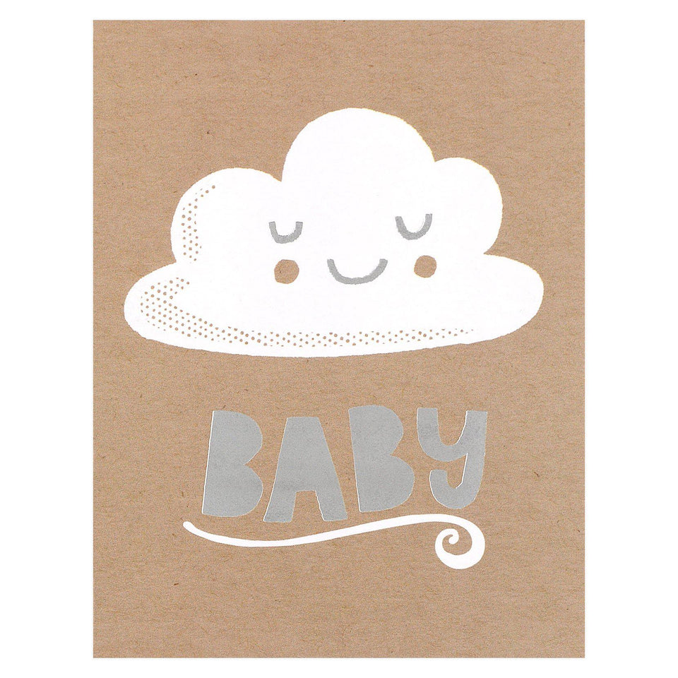Allison Cole Baby Cloud Greeting Card