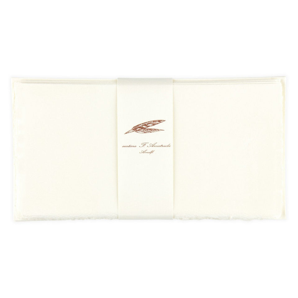 Cavallini Cartiera Amatruda Amalfi Handmade Long Folded Note Card Set