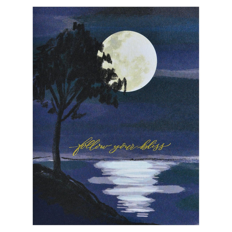 Antiquaria Follow Your Bliss Greeting Card - GREER Chicago Online Stationery Shop