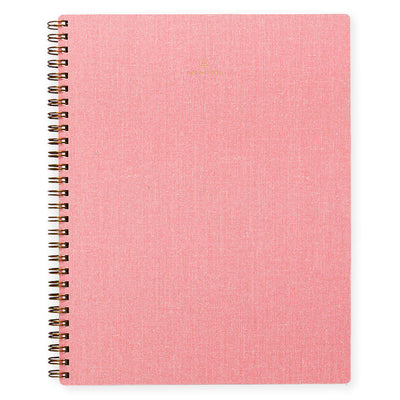 Appointed Blossom Pink Notebook | Lined or Grid