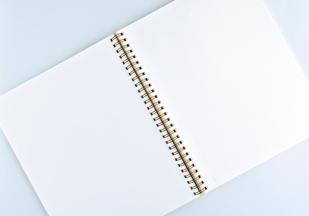 Appointed Oxford Blue Notebook | Lined or Grid