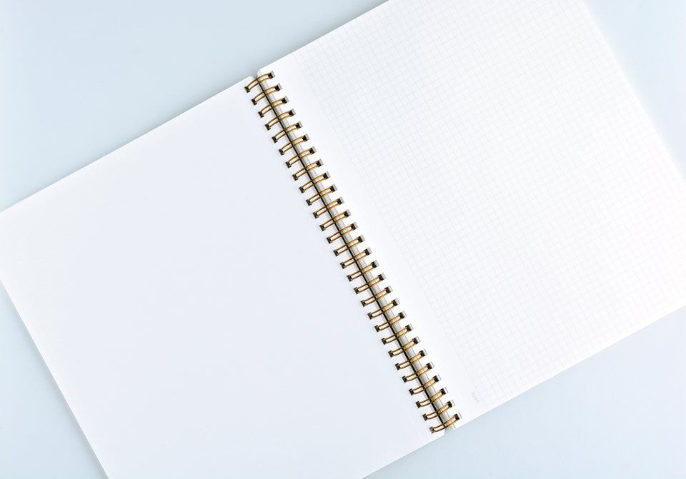 Appointed Hunter Green Notebook | Lined or Grid