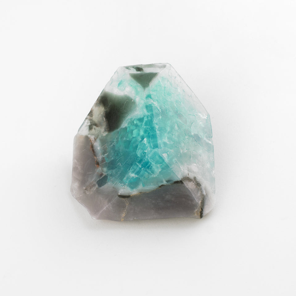 SoapRocks Aqua Geode Soap Rock