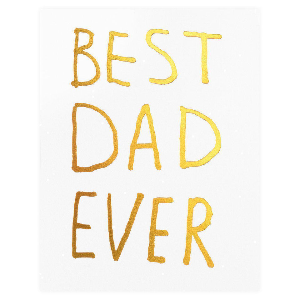 Ashkahn Best Dad Ever Father's Day Card