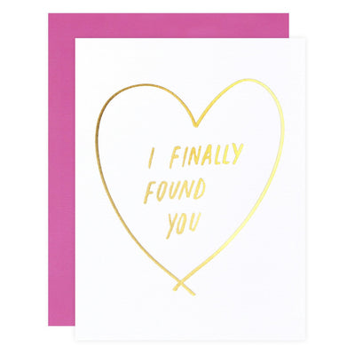 Finally Found You Greeting Card Ashkahn  - GREER Chicago