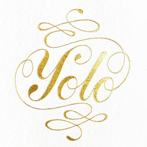 Ashkahn YOLO Greeting Card - GREER Chicago Online Stationery Shop