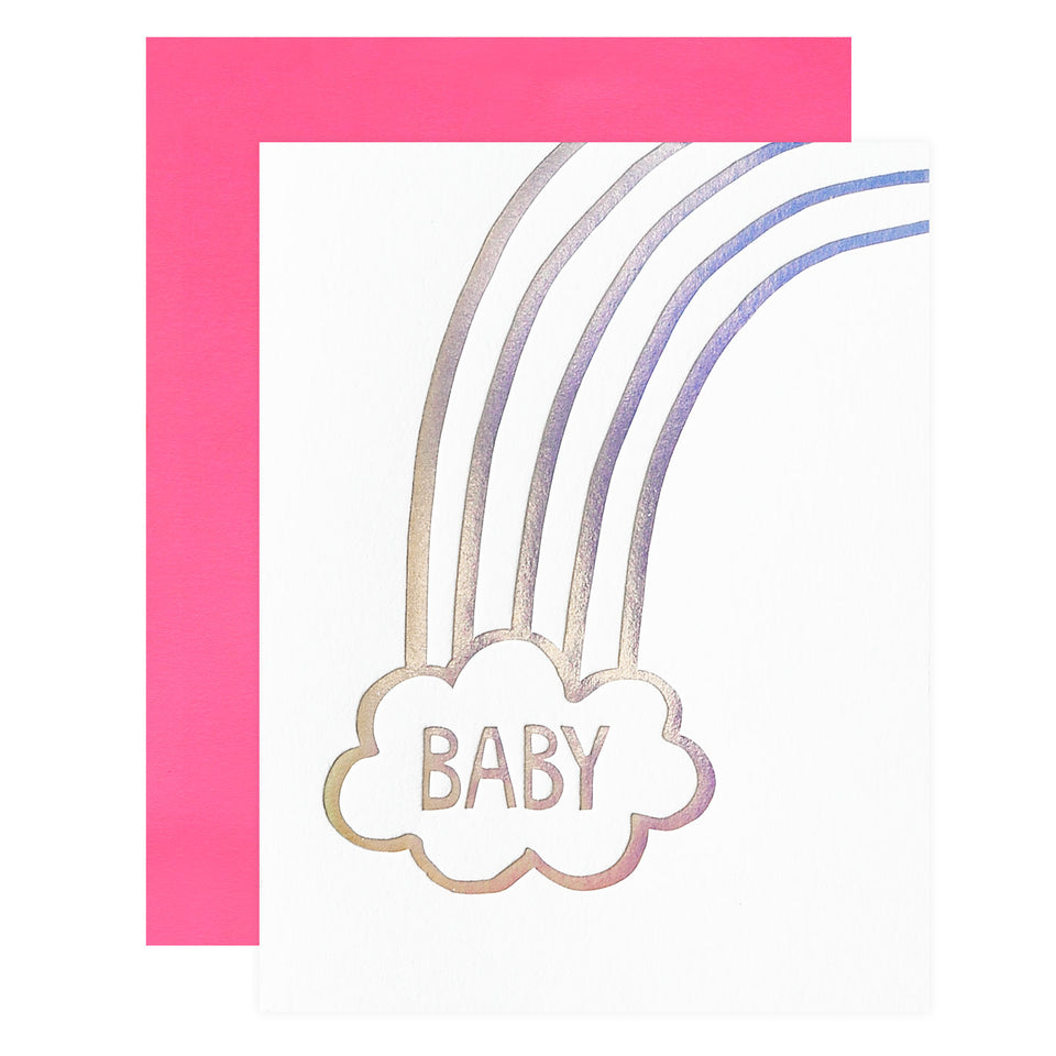 Ashkahn Rainbow Baby Card