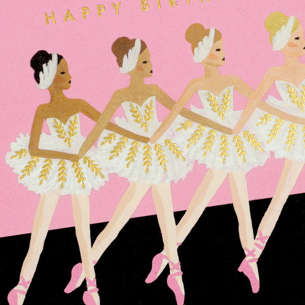 Ballet Birthday Card - GREER Chicago Online Stationery