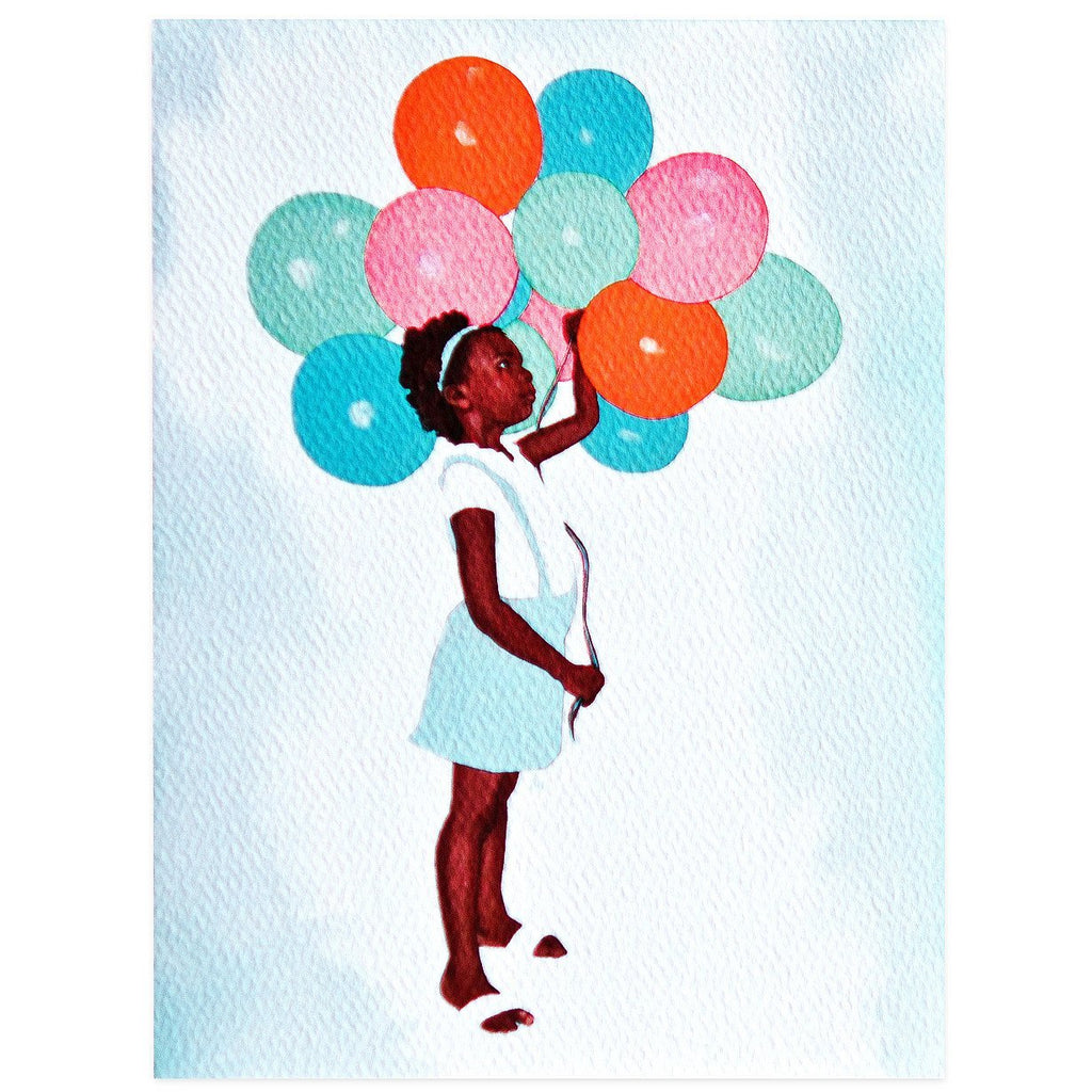 Balloon Girl Birthday By Nic Studio - 1