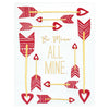 Elum Be All Mine Valentine's Day Card