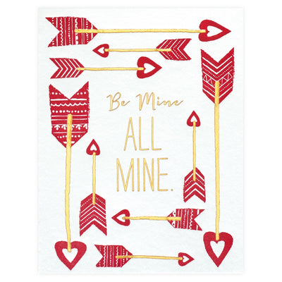 Elum Be All Mine Valentine's Day Card - GREER Chicago Online Stationery Shop
