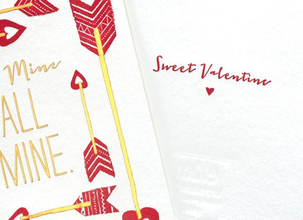 Be All Mine Valentine's Day Card By Elum - 1
