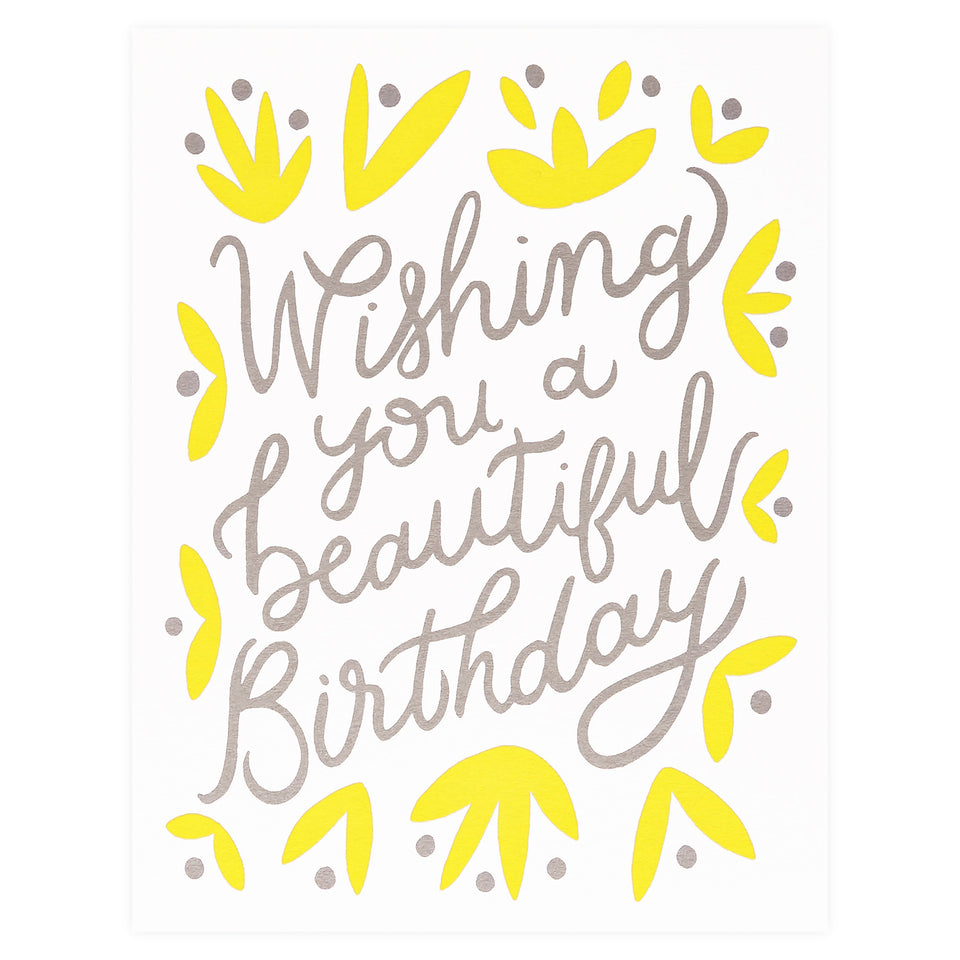 Worthwhile Paper Beautiful Birthday Greeting Card