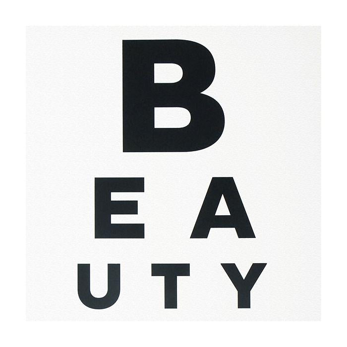 Beauty Eye Chart Print By Calm Gallery - 2
