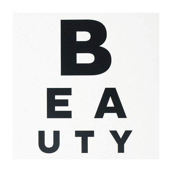 Beauty Eye Chart Print - GREER Chicago Online Stationery