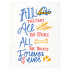Bench Pressed All The Things Pet Sympathy Card - GREER Chicago Online Stationery Shop