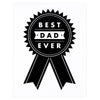 The Paper Cub Best Dad Ever Father's Day Card - GREER Chicago Online Stationery Shop