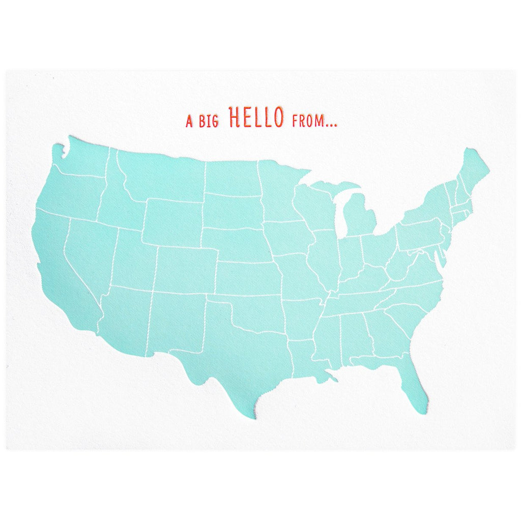 Big Hello USA - GREER Chicago Online Stationery