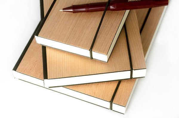 Purist Wood Lined Journals By Bindewerk - 1