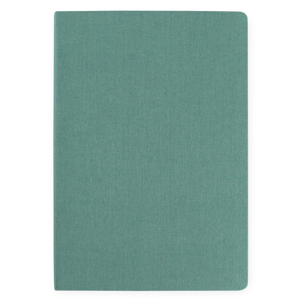 Bindewerk Linen Notebook A5 Jade