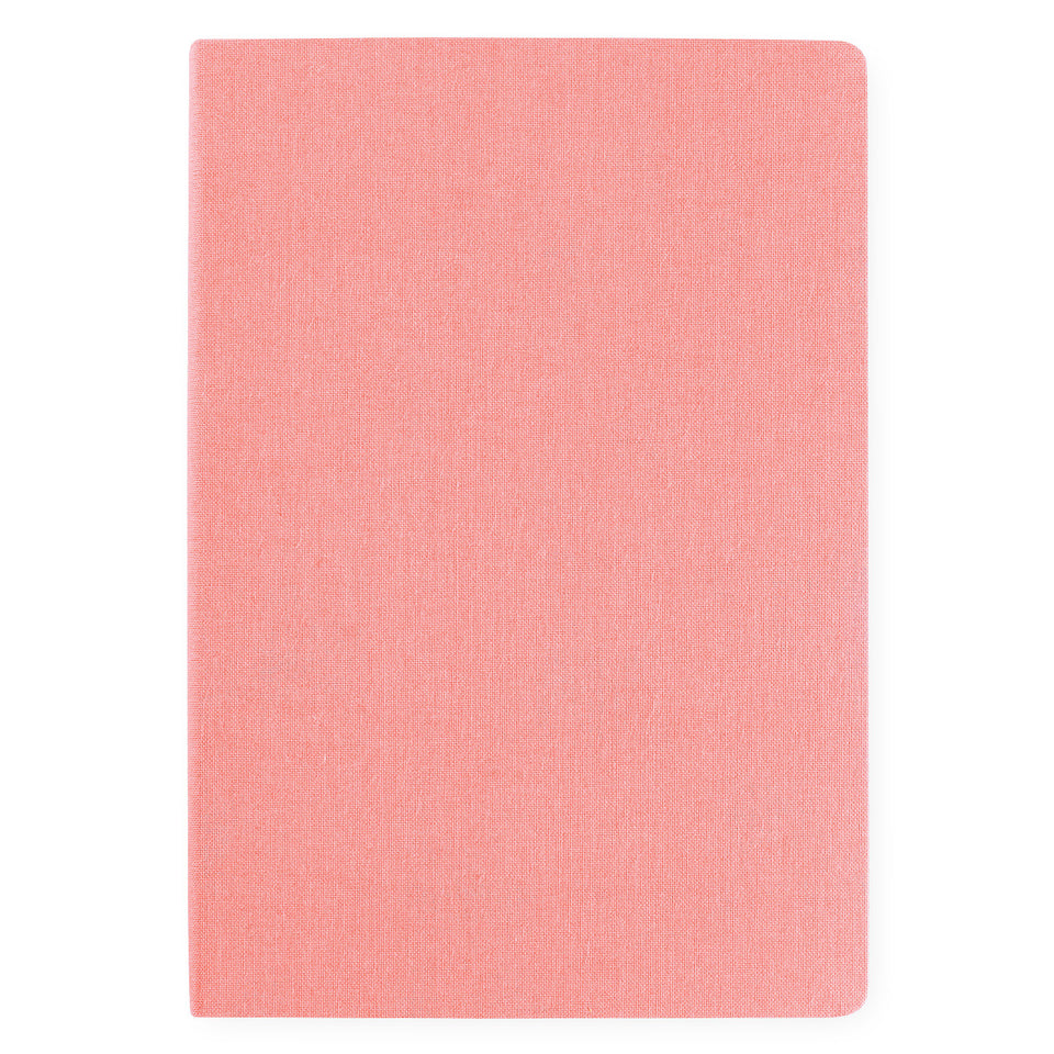 Bindewerk Linen Notebook A5 Rose