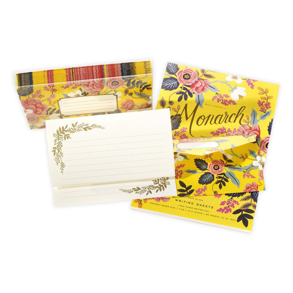 Birch Monarch Writing Pad and Envelopes By Rifle Paper Co.