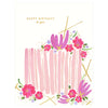 Snow & Graham Birthday Cake Greeting Card - GREER Chicago Online Stationery Shop