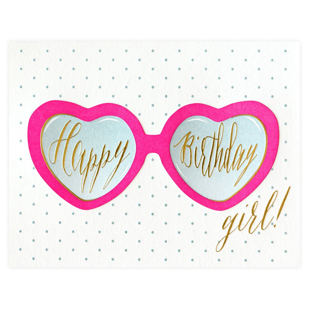 Birthday Shades Greeting Card By Elum
