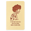 Blackbird Letterpress Shirley Chisholm Letterpress Printed Notebook