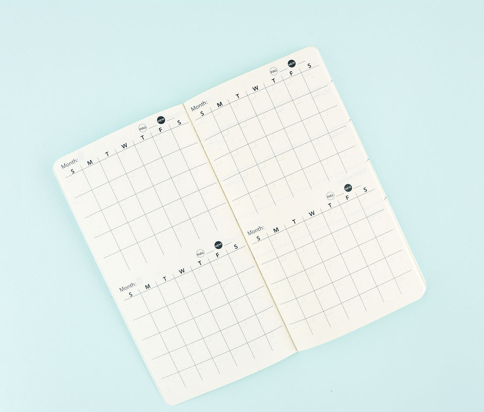 Blackbird Letterpress Frida Kahlo Weekly Planner Undated