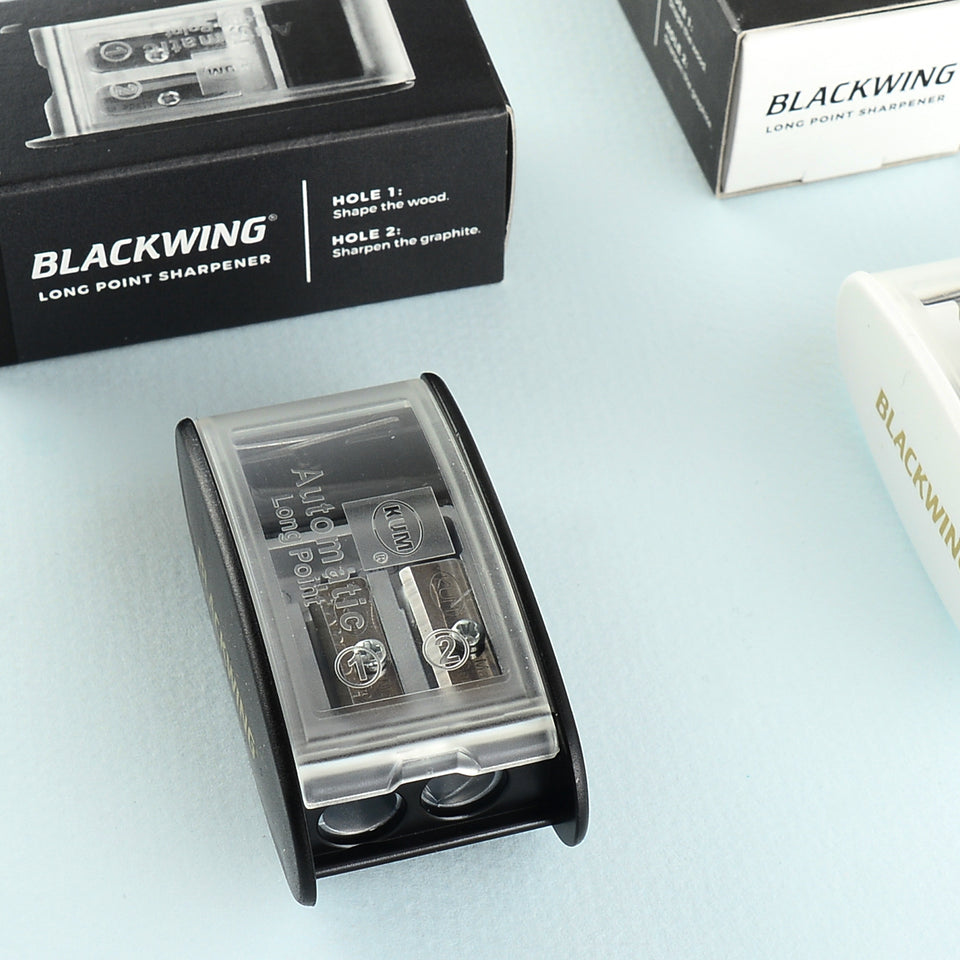 Palomino Blackwing KUM Long Point Sharpener | Black or White