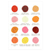 Mr. Boddington's Studio Birthday Cakes Color Palette Card - GREER Chicago Online Stationery Shop