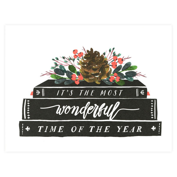 Alisa Bobzien Books Holiday Cards Boxed - GREER Chicago Online Stationery Shop