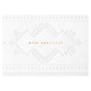 Bourne Paper Co. Aztec With Gratitude Thank You Card - GREER Chicago Online Stationery Shop