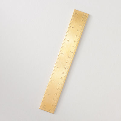 Poketo Solid Brass Ruler